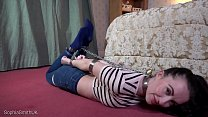 30 Minute Strict Collared Hogtie Bondage JOI image