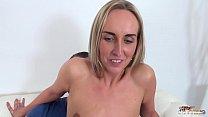 Cum showered babe enjoy fake agent's cock every second when fuck Vorschaubild