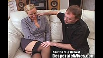 Tall Wife Gets Fucked and Spermed! image