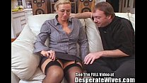 Tall Wife Gets  Fucked And Spermed  med