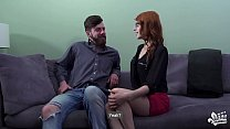 CASTING FRANCAIS - Naughty Canadian redhead teen banged hard in audition bang Vorschaubild