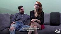 Image: CASTING FRANCAIS - Naughty Canadian redhead teen banged hard in audition bang