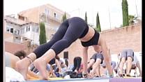 Portuguese Yoga MILF in Tight Leggings Instagram Story