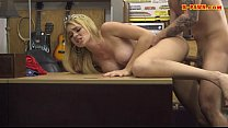 Huge boobs blonde fucked by pawn dude Thumbnail