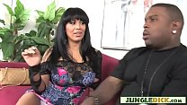 Whorish MILF Orally Pleasing Younger Black Stud (Sienna West)