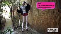 Skinny teen slut Aria Haze gets pounded again b...
