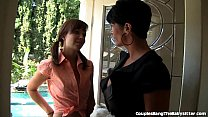 Adorable Teen Babysitter's First Threesome Preview