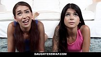 DaughterSwap - Hot Gamer Teen Fucked By Older Perv - 69VClub.Com