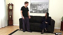 Outrageously Hot Step-mom Nadia Loves Young Dick thumbnail