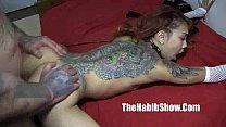 asian sensation kimbelry chi gets banged rican hood tattoo chiraqi style