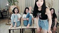 Korean girls get bastinado