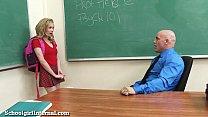 Teen Schoolgirl Gets Knocked Up By Teacher! pornhub video