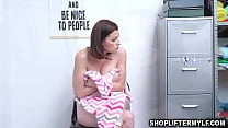Sexy MILF thief Sovereign Syre makes a deal with the mall officer to have sex with her just to escape from trouble.