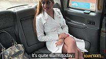 Scandalous Asia gets her tight pussy pounded by her pervy driver