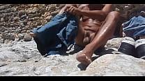 beach voyeur undressing