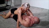 Adara grinds on my cock until I cum