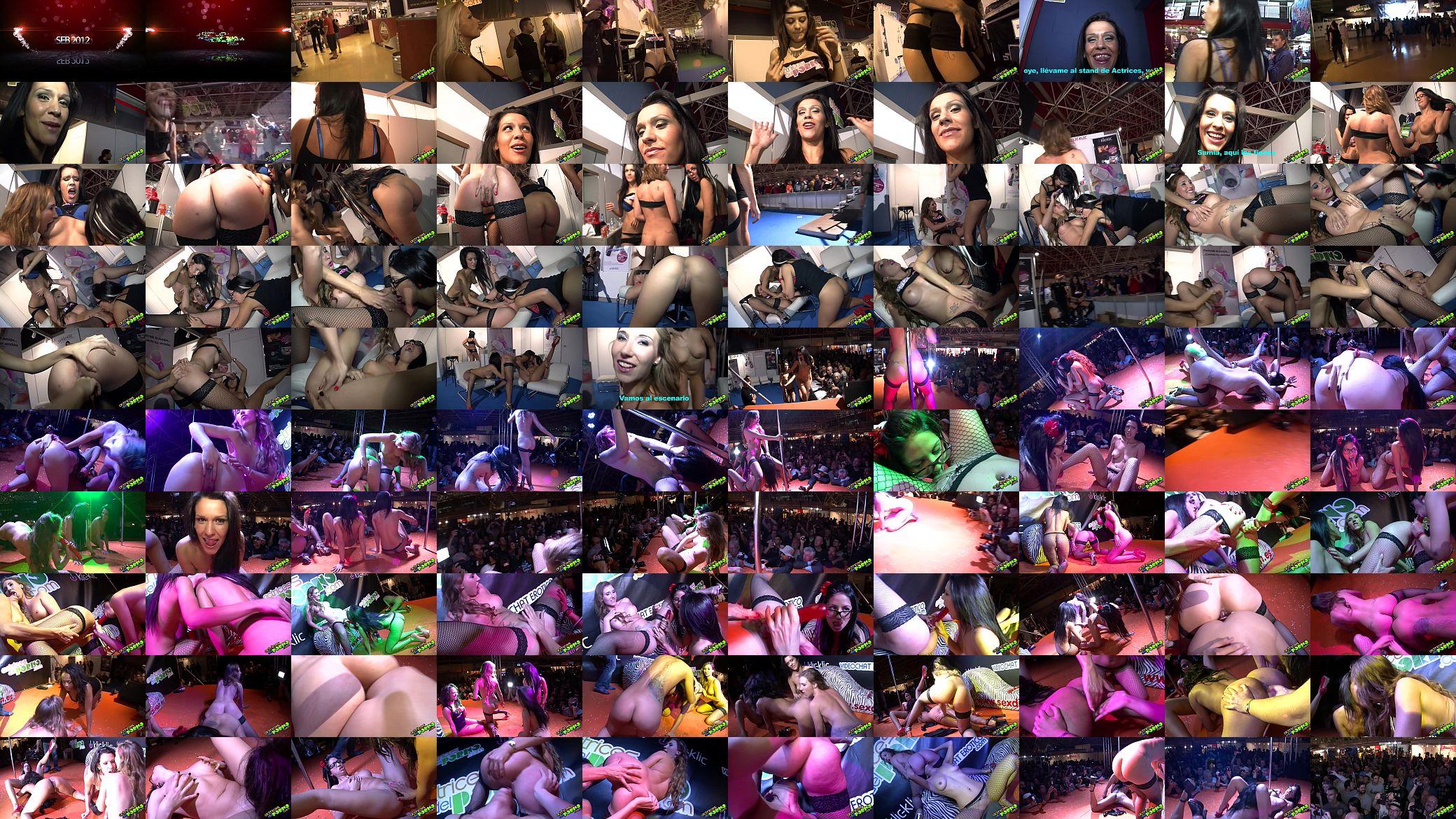 Actriz Porno Española Alana trío lésbico seb 2012 - xvideos