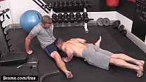 Bromo - Jeremy Spreadums with Shawn Reeve at Train Me Part 1 Scene 1 - Trailer preview
