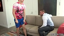 Teacher Myles fucks his gay student Ian Levine