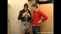 Nederlander Brunette Whore Wants More