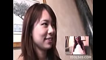 Young Miho Uehara plays naughty on cam