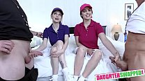 Nadya Nabakova, Raven Reign In Diabolical Dads Swap Their Ace Daughters
