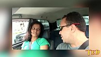 I broke the hot ass in the car - Giuliana Leme ...