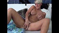 Hot Mature Blonde with Short Hair Masturbates on Cam - CamGirlsUntamed.com