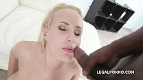 BlackEned with Angel Wicky 4 white then 4 black Balls Deep Anal and DAP - xxxcollage thumbnail