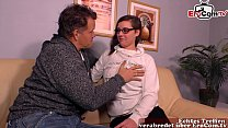 German daughter-in-law fucks father-in-law