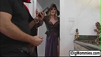 Anastasia fucked by bf and milf Cory