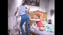 Couple of young Hungarian babes Anita  and Erika Kiss enjoy pearls diving and playing with didlo