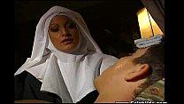 Italian Nun Does Anal