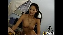 Lovely babe Honey ass fucked passionately before jizz shower