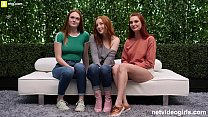 3 Redheads and One Lucky Guy