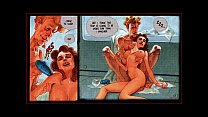 Huge Breast Sexual Anal Oral Comic Preview