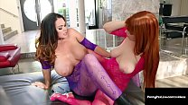 Hot Boobs Penny Pax & Alison Tyler Grind Them P...