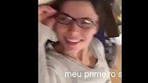brasileira amadora achou que não ia doer