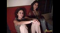 Michaelle et Emilie, deux petites beurettes en trio sensuel
