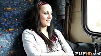 Fucking girl on train for cash Mea Melone 4 - download porn videos
