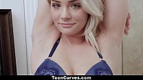 TeenCurves - Wet Teen (Hadley Viscara) With Curves Gets Some Cocking
