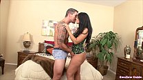 Ava Alvares wiggles her tasty ass and swallows load