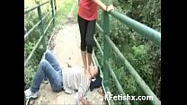 Naughty Leg Fetish Sex For Woman