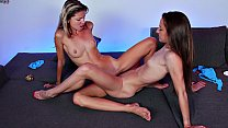 Amirah Adara Vs Gina Gerson Scissoring, Fingering and Pussy licking Lesbian Contest