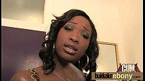 Ebony babe sucks and fucks several white dudes 2 thumbnail