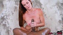 SofieMarieXXX - MILF Sofie Marie Strokes Big Black Cock POV