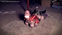 Girl Tied with Big Tits