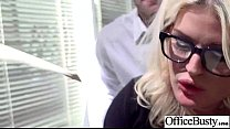 Bigtits Girl (julie cash) Get Hard Style Nailed In Office vid-22 preview image