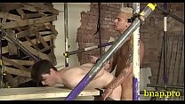 Going for gay's dong in fetish sex