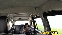 Fake Taxi beautiful young black girl in bodysuit gets cummy pussy Preview